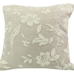 Ozdobna poduszka wzór kwiatowy v1